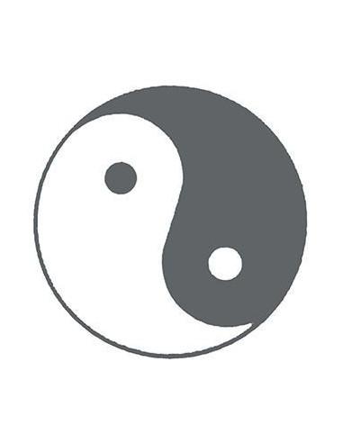 Symbol Jin a Jang svítící ve tmě -...