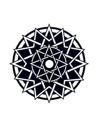Keltská hvězda - nalepovací tetování