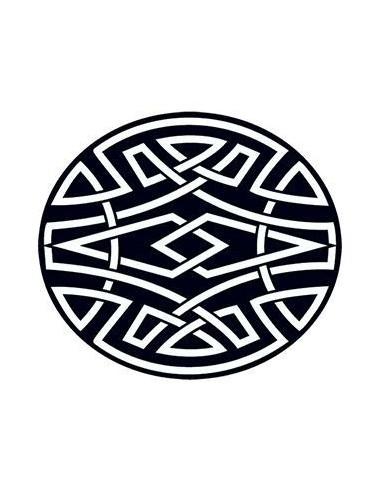 Keltský kruh - nalepovací tetování