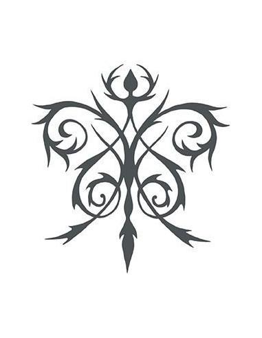 Keltská květina - nalepovací tetování