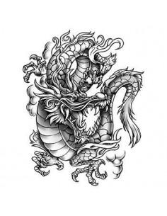 Šedý drak - velké...