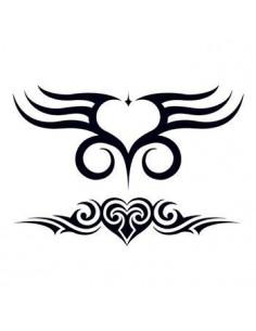 Dvě srdce - tribal...