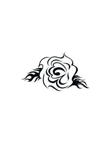Růže - tribal nalepovací tetování