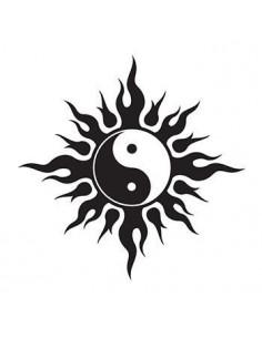 Symbol Jin a Jang - tribal...