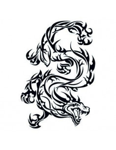 Divoký drak - tribal...