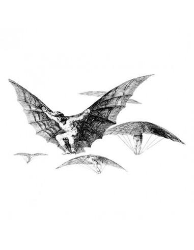 Goya Modo de Volar - nalepovací tetování