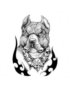 Pitbull - nalepovací tetování