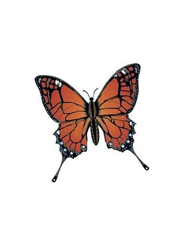 Motýl monarcha - nalepovací tetování