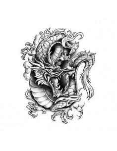 Dragon - nalepovací tetování