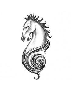 Koňská hlava - tribal...