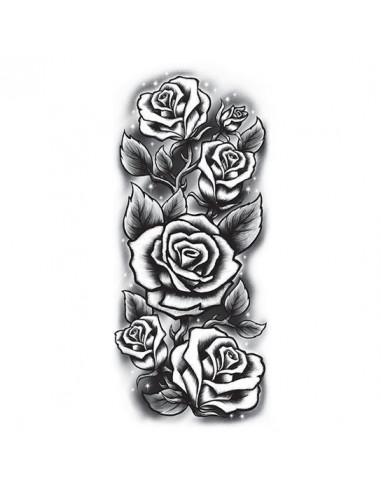 Růže - velké nalepovací tetování