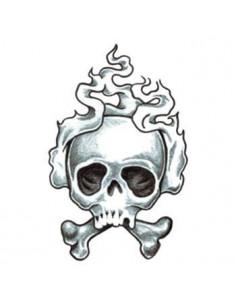 Kouřící lebka - tribal...