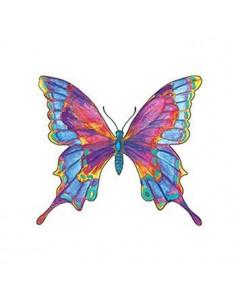 Barevný motýl - nalepovací...