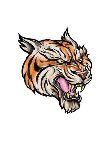 Tygr - nalepovací tetování