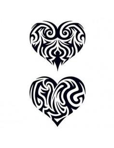 Dvě vyřezávaná srdce -...