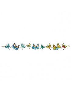 Náramek s motýlky -...