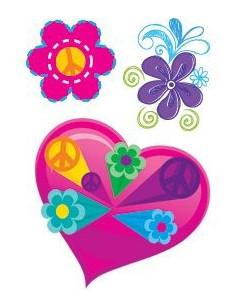 Srdíčko a kytičky -...