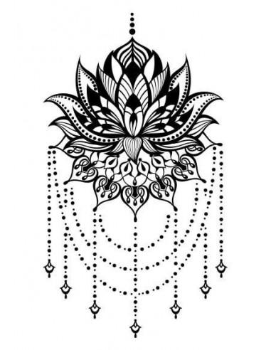 Chandelier - nalepovací tetování