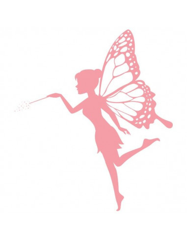 Růžová víla - nalepovací tetování