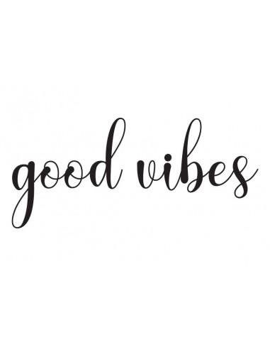 Good vibes - nalepovací tetování