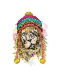 Velký hipster lev -...