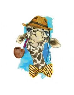 Malá hipster žirafa -...