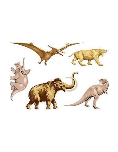 Pravěká zvířata - sada tetovaček