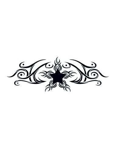 Hvězda - tribal nalepovací tetování
