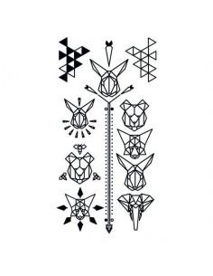 Geometrická zvířata - sada...