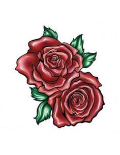 Dvě červené růže -...