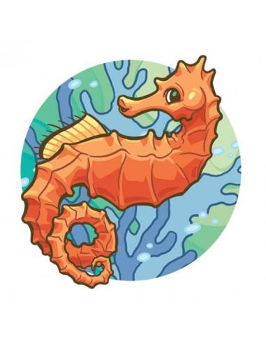 Mořský koník - nalepovací tetování
