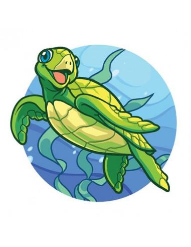 Mořská želva - nalepovací tetování