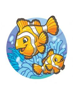 Rybky klauni - nalepovací...
