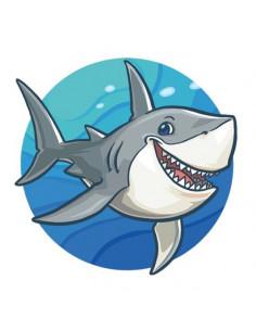 Žralok - nalepovací tetování