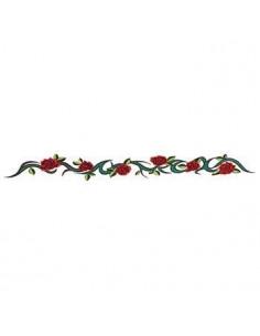 Náramek s růžemi -...