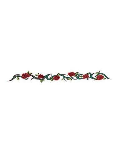 Náramek s růžemi - nalepovací tetování