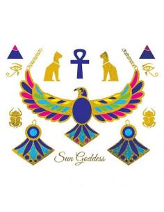 Metalické egyptské symboly...