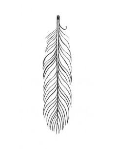 Pírko - nalepovací tetování