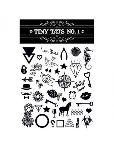 Černobílé tetovačky - sada 1