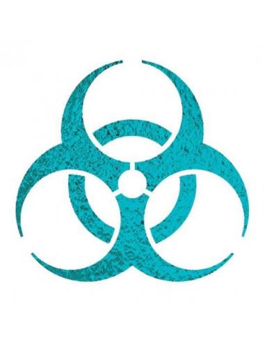 Metalický symbol Biohazard -...