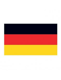 Německá vlajka - nalepovací...
