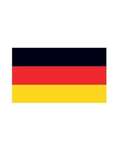 Německá vlajka - nalepovací tetování