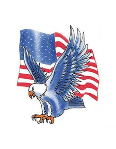 Modrý orel s americkou...