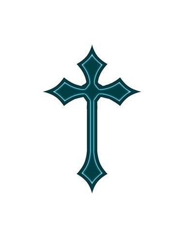 Jednoduchý keltský kříž - nalepovací...