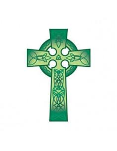 Zelený keltský kříž -...