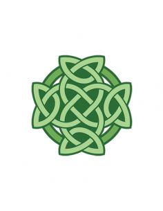 Zelený keltský uzel -...