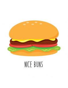 Hamburger - nalepovací...