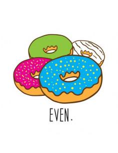 Donuty - nalepovací tetování