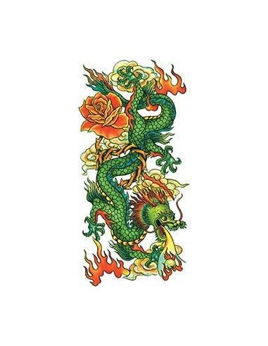 Tradiční čínský drak - nalepovací...
