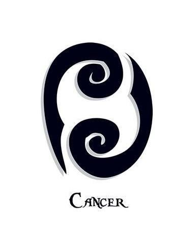Znamení Raka - nalepovací tetování
